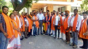 लोकसभा चुनावों में भारतीय जनता पार्टी की चंडीगढ़ की लगातार दूसरी बार ऐतिहासिक जीत और 10 वर्षों से पार्टी के प्रदेश अध्यक्ष रहते हुए पार्टी को हर मोर्चे पर विजय दिलाने और संगठन को सुदृढ़ करने वाले प्रदेश अध्यक्ष संजय टंडन का आज जिला नंबर 5 के कार्यकर्तायों ने जिला अध्यक्ष हुकुम चंद की अध्यक्षता में धन्यवाद समारोह का आयोजन किया गया जिसमे भारतीय जनता पार्टी चंडीगढ़ के प्रदेश अध्यक्ष संजय टंडन ने इसमें मुख्यातिथि के रूप में भाग लिया  